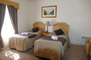2 single beds in Twin Room